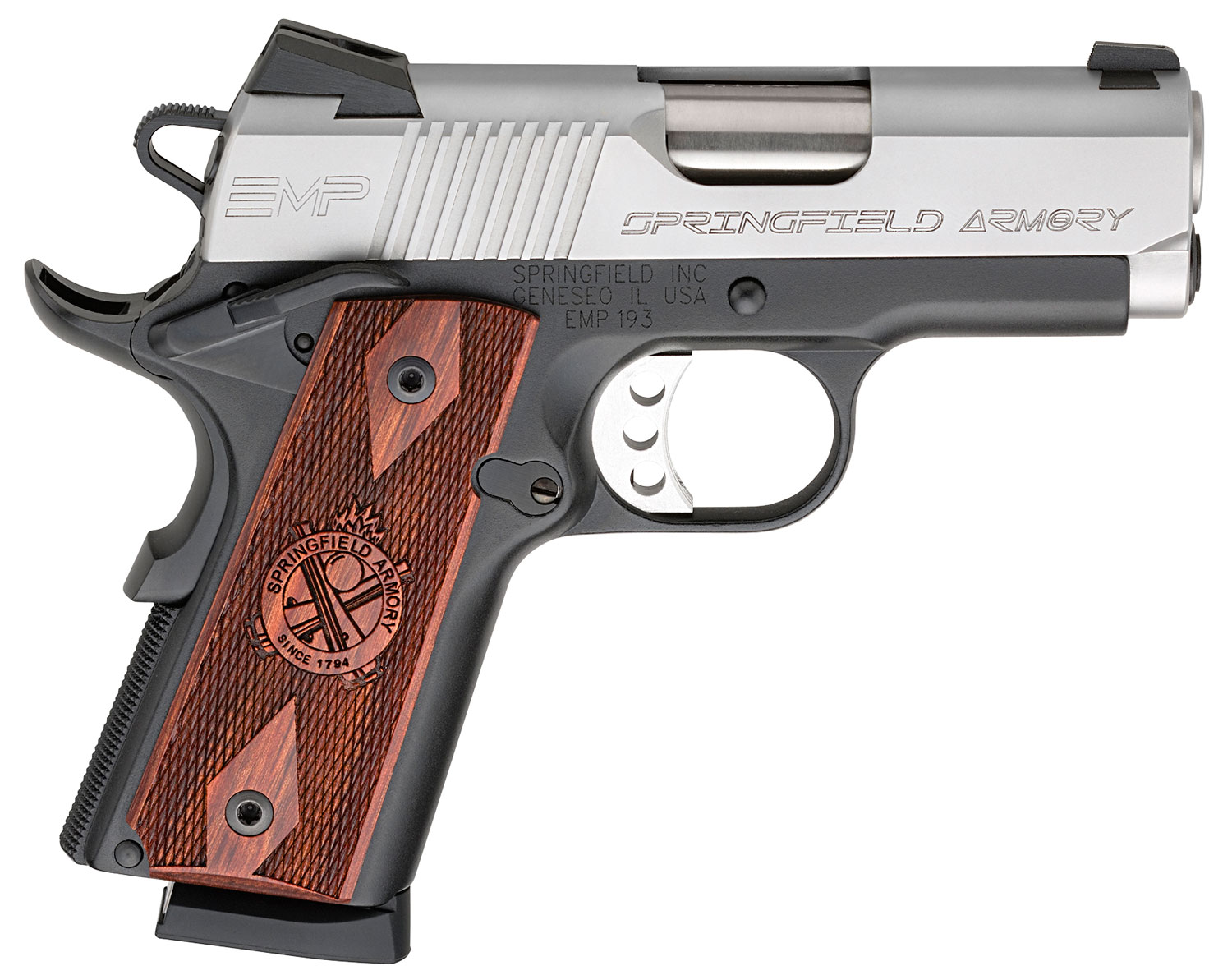 Springfield Armory PI9209LCA 1911 EMP Compact *CA Compliant*  9mm Luger Single 3