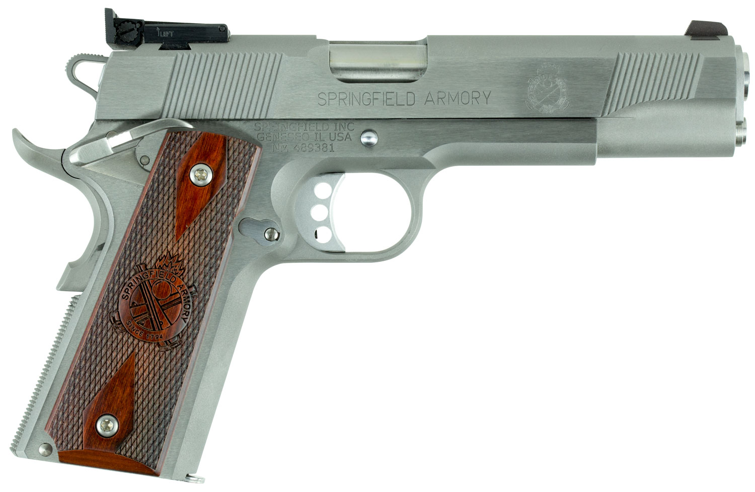 Springfield Armory PI9134LCA 1911 Target *CA Compliant*  9mm Luger Single 5