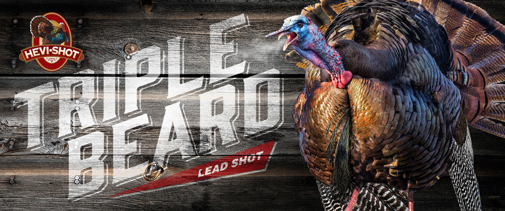 Hevishot 95567 Triple Beard Turkey 12 Gauge 3.5