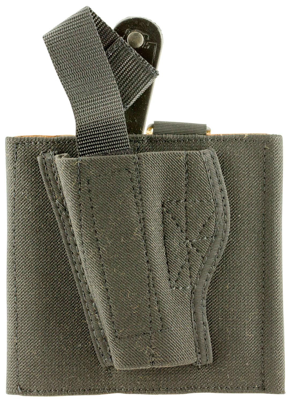 Desantis Gunhide 062BBMAZO Apache Ankle Rig Glock 43/42 Black Left Hand Elastic Black