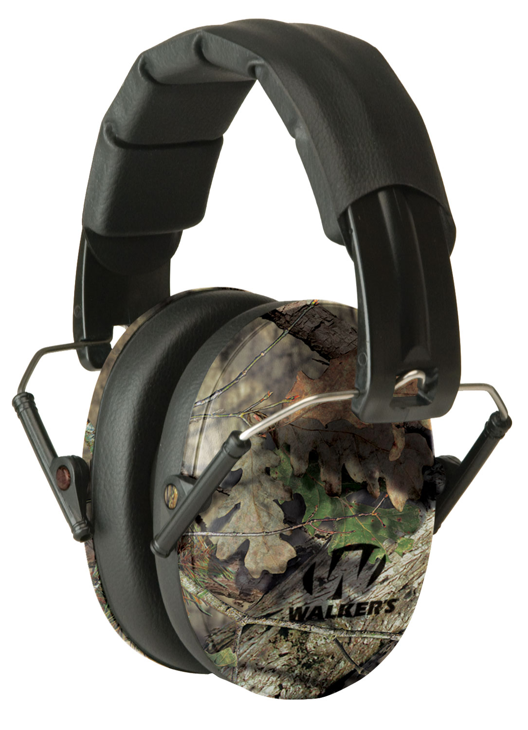 WALKERS MUFF SHOOTING PASSIVE PRO-LOW PROFILE 22dB MOSSY OAK