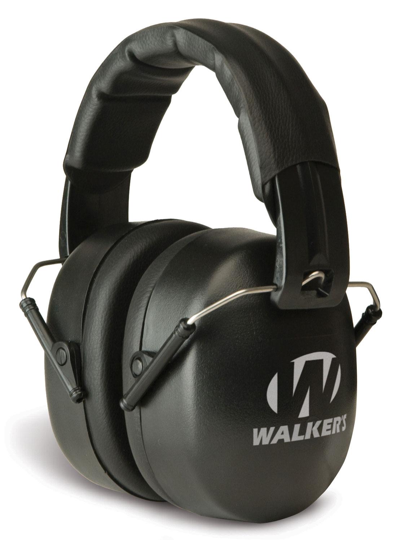 Walkers GWPEXFM3 Passive EXT Range Earmuff Black
