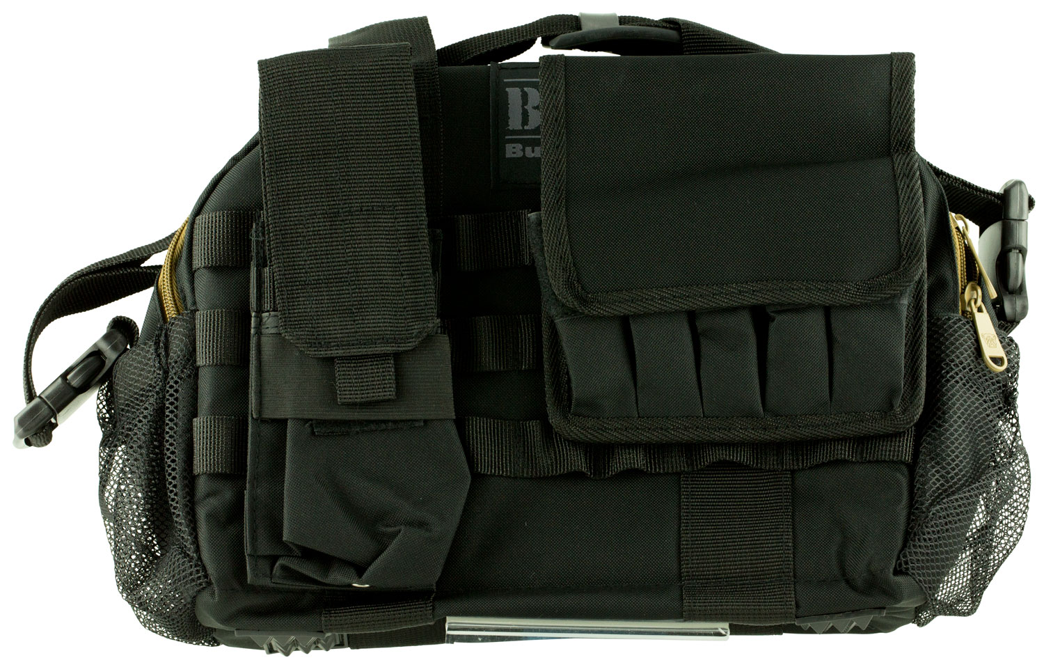 Bulldog BDT940B Tactical Range Bag with MOLLE Mag Pouches 17
