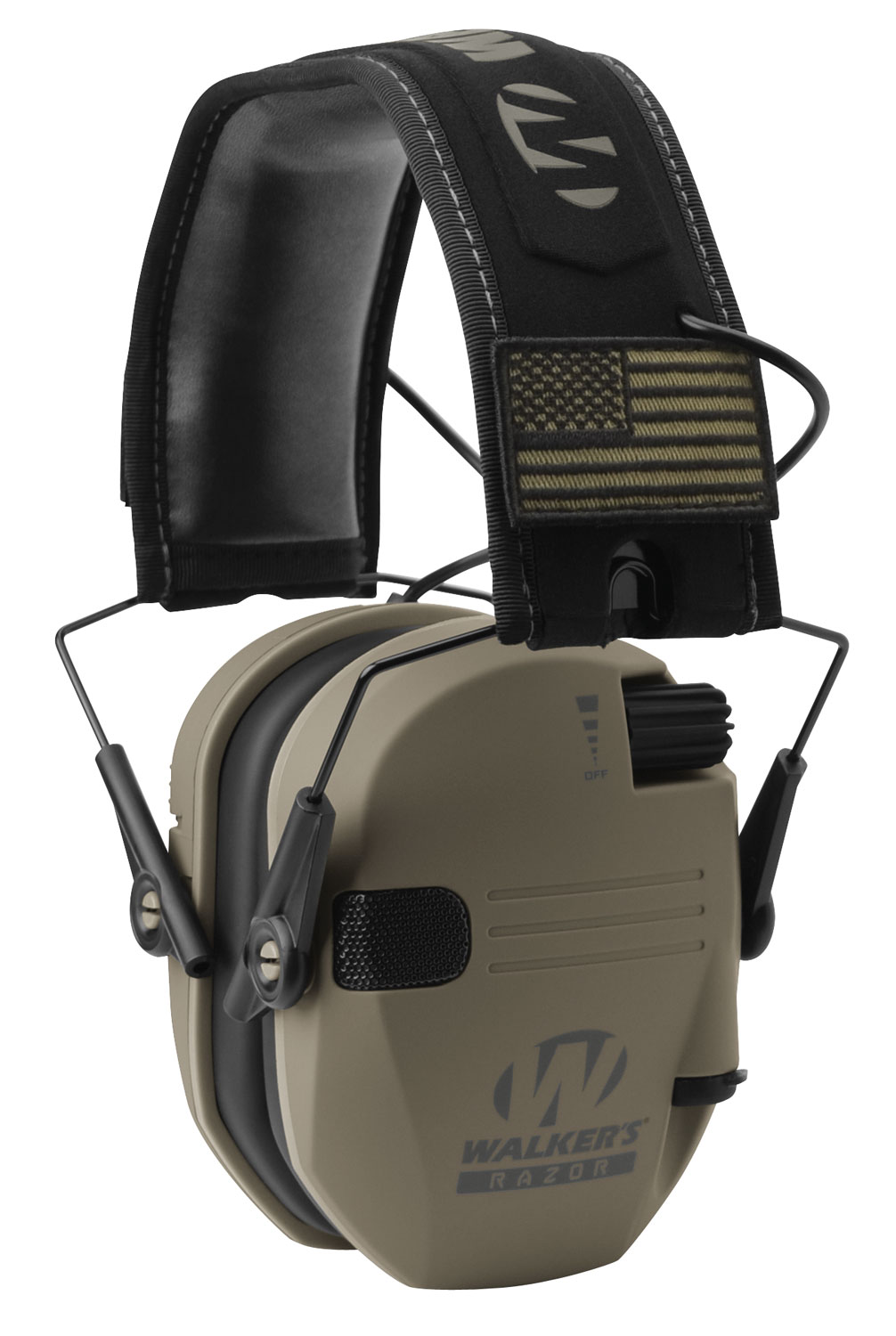 WALKERS MUFF ELECTRONIC RAZOR SLIM PATRIOT 23dB FDE