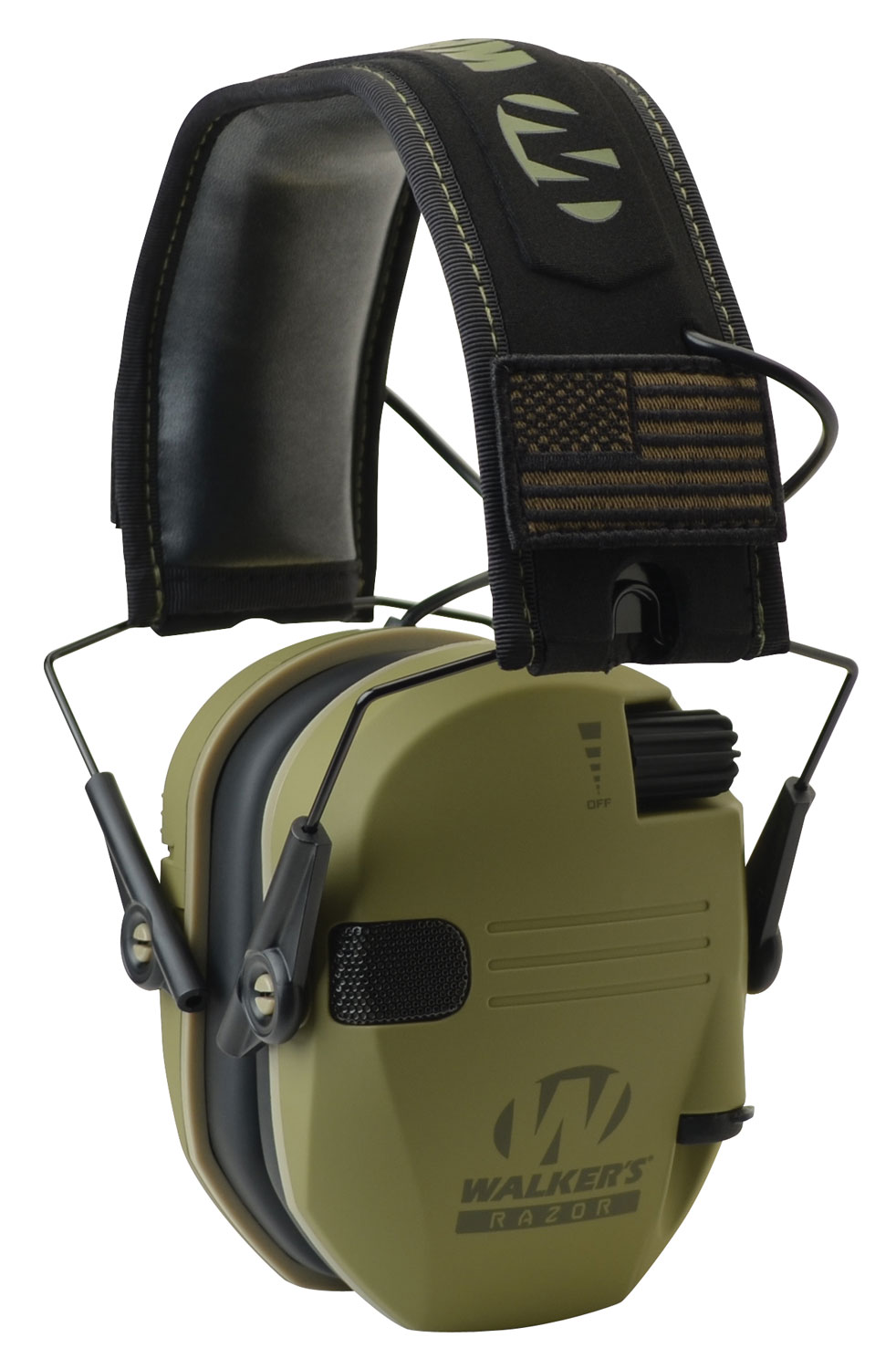 WALKERS MUFF ELECTRONIC RAZOR SLIM PATRIOT 23dB OD GREEN