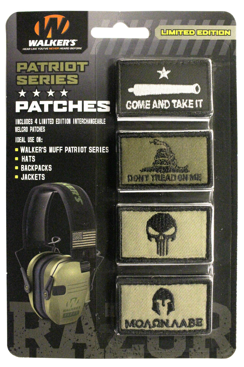 Walkers GXPPATKIT Patriot Muff Patch Kit