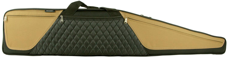 Bulldog BD365 Elite Shotgun Case Black w/Tan Trim Nylon 52