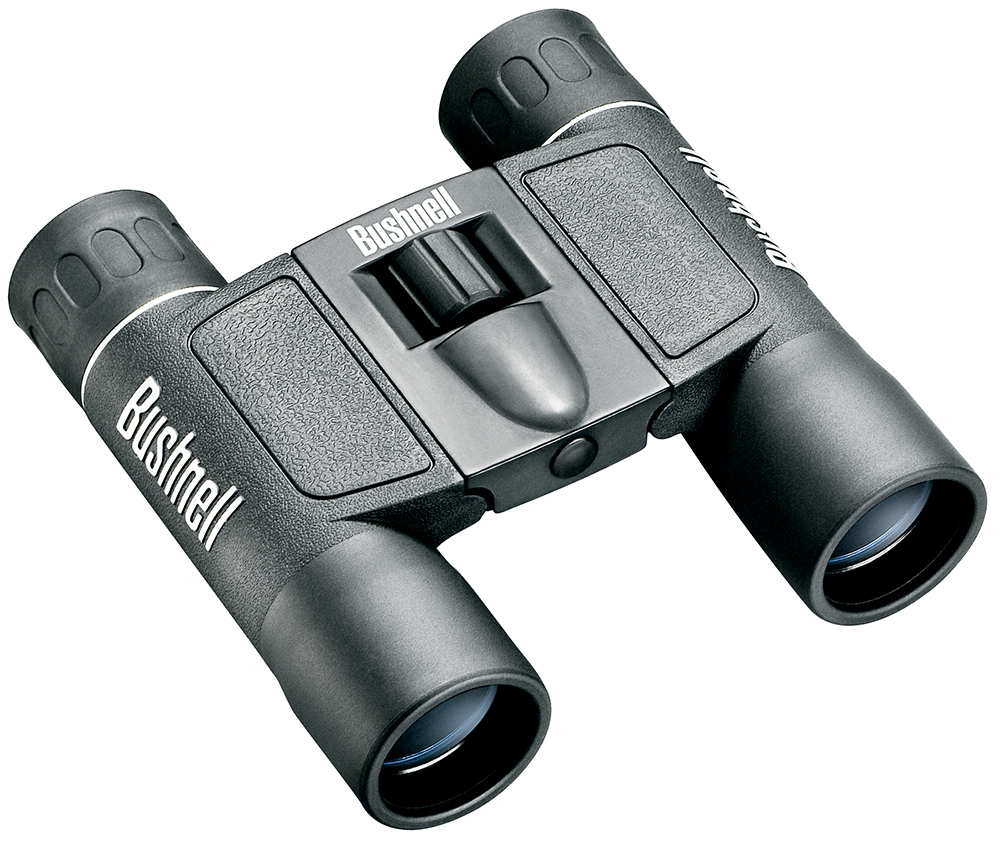 Bushnell 132516 Powerview 10x 25mm 300 ft @ 1000 yds FOV 9mm Eye Relief Black Rubber Armor