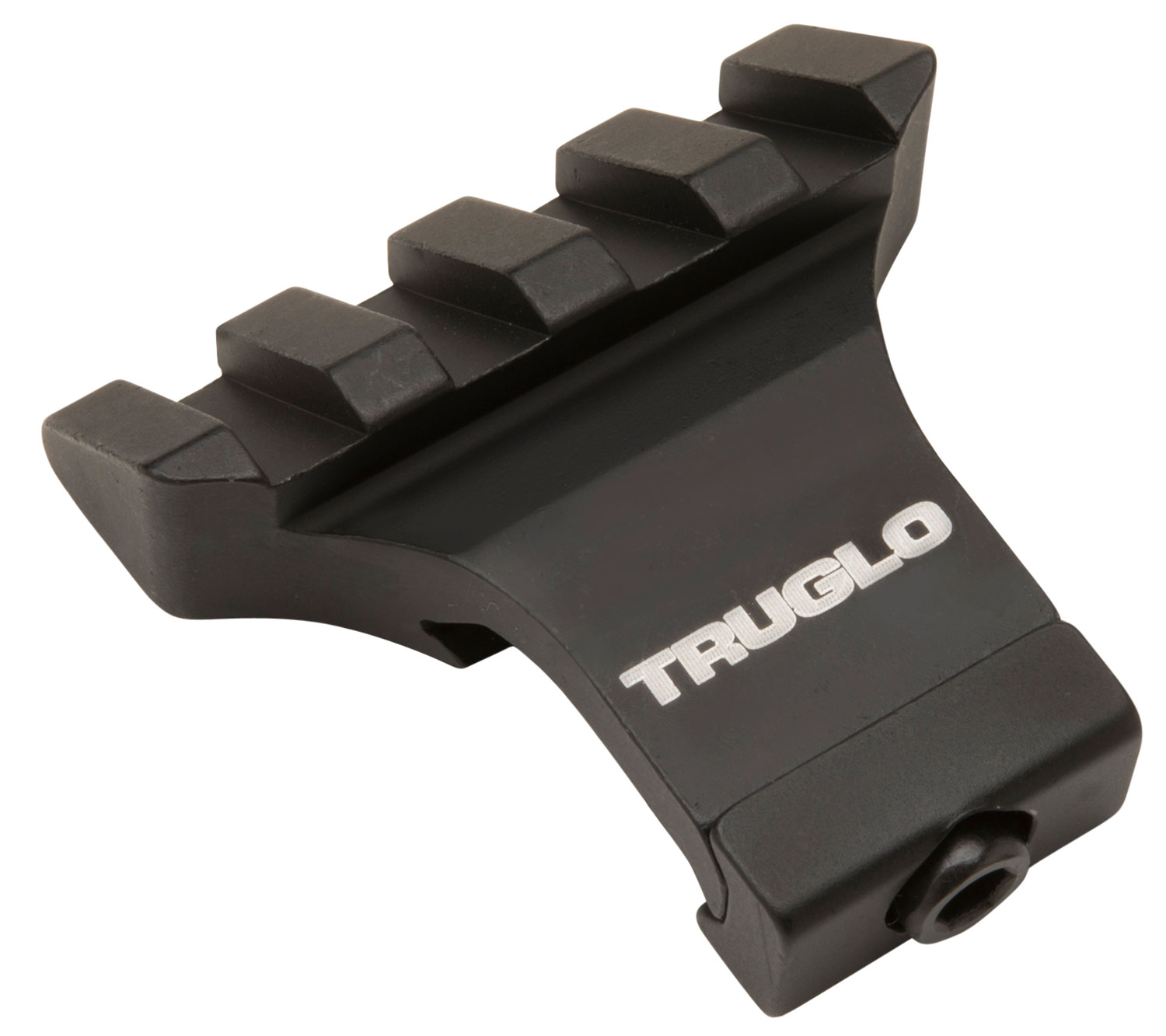 Truglo TG8975B Offset Picatinny Side Mount Rail Black Matte Anodized Finish