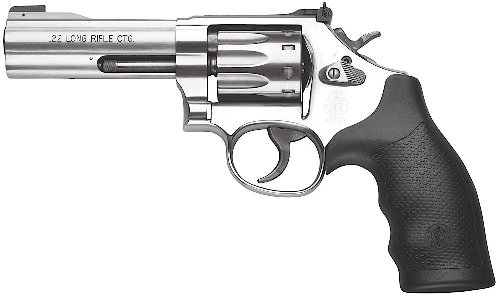Smith & Wesson 160584 617 K-Frame Single/Double 22 Long Rifle (LR) 4