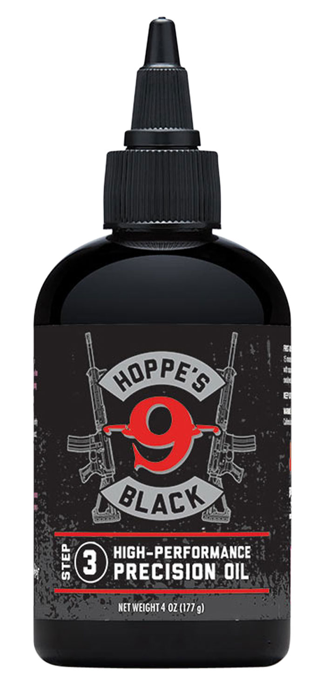 Hoppes HBL4 Black Precision Gun Oil 4 oz