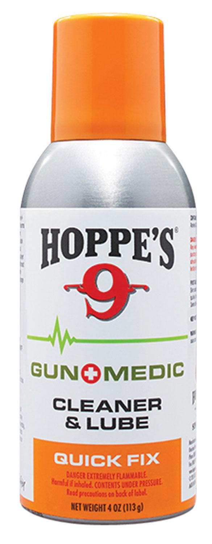 Hoppes GM3 Gun Medic Quick Fix Cleaner/Lubricant 4 oz Aerosol
