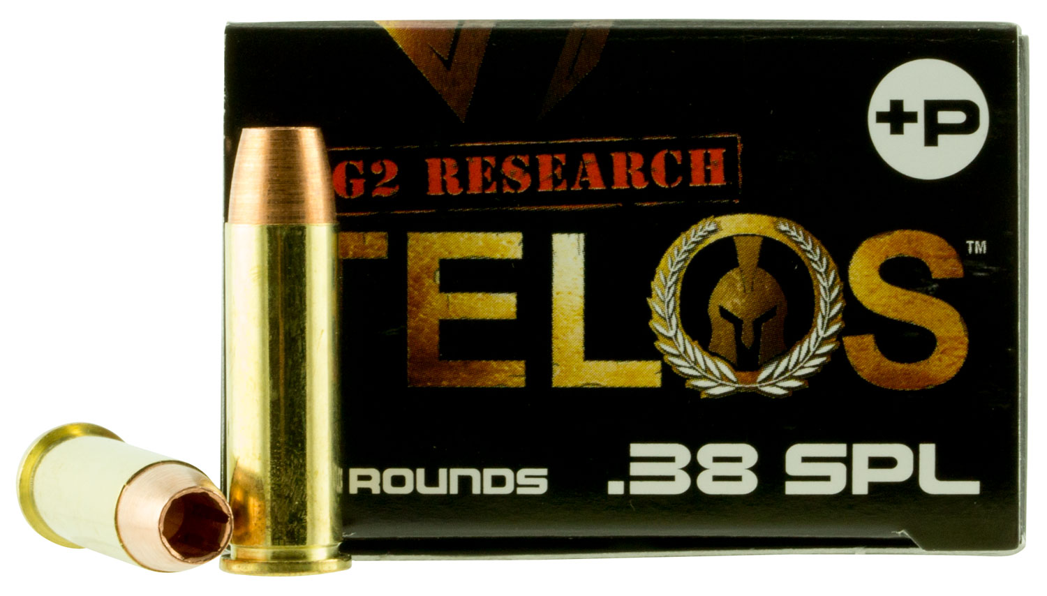 G2 Research TELOS 38SPL+ Telos 38 Special 105 GR Copper Hollow Point Fracturing 20 Bx/ 25 Cs
