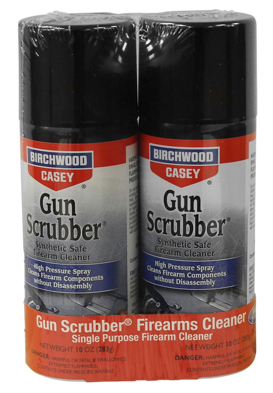 Birchwood Casey Gun Scrubber Combo Pack  <br>  Aersol 10 oz.