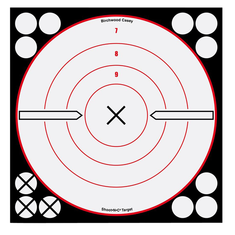 Birchwood Casey 34802 Shoot-N-C Bull's-Eye Shoot-N-C Bull's-Eye 8