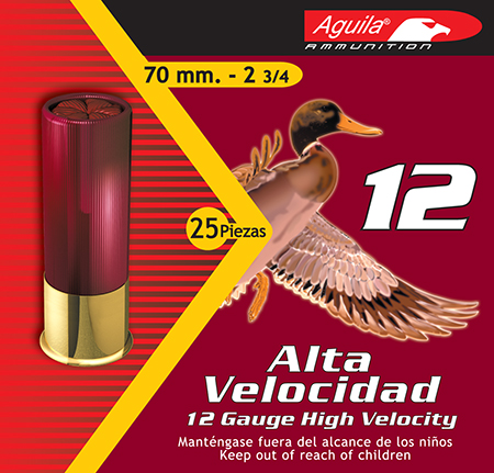 Aguila 1CHB1204 Field High Velocity  12 Gauge 2.75