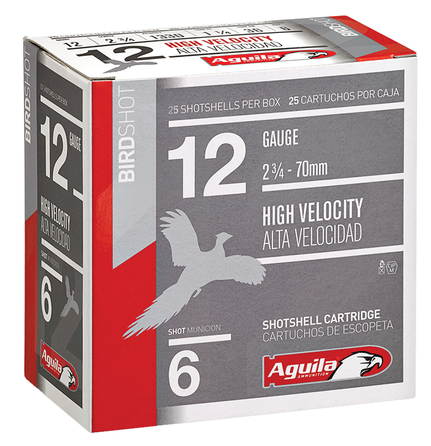Aguila 1CHB1206 Hunting High Velocity 12 Gauge 2.75