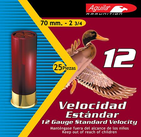Aguila 1CHB1217 Hunting Standard Velocity 12 Gauge 2.75