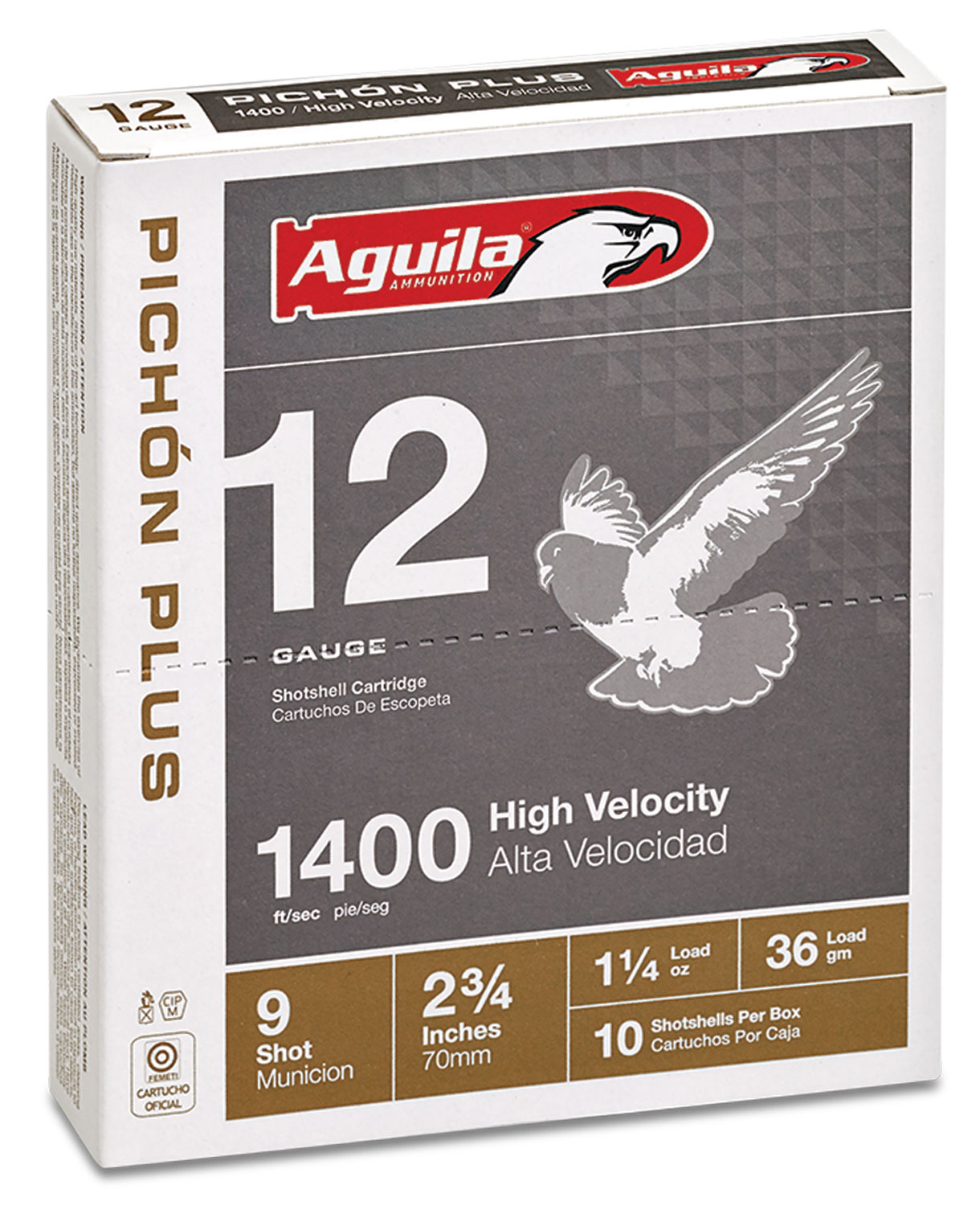 Aguila 1CHB1297 Competition   12 Gauge 2.75