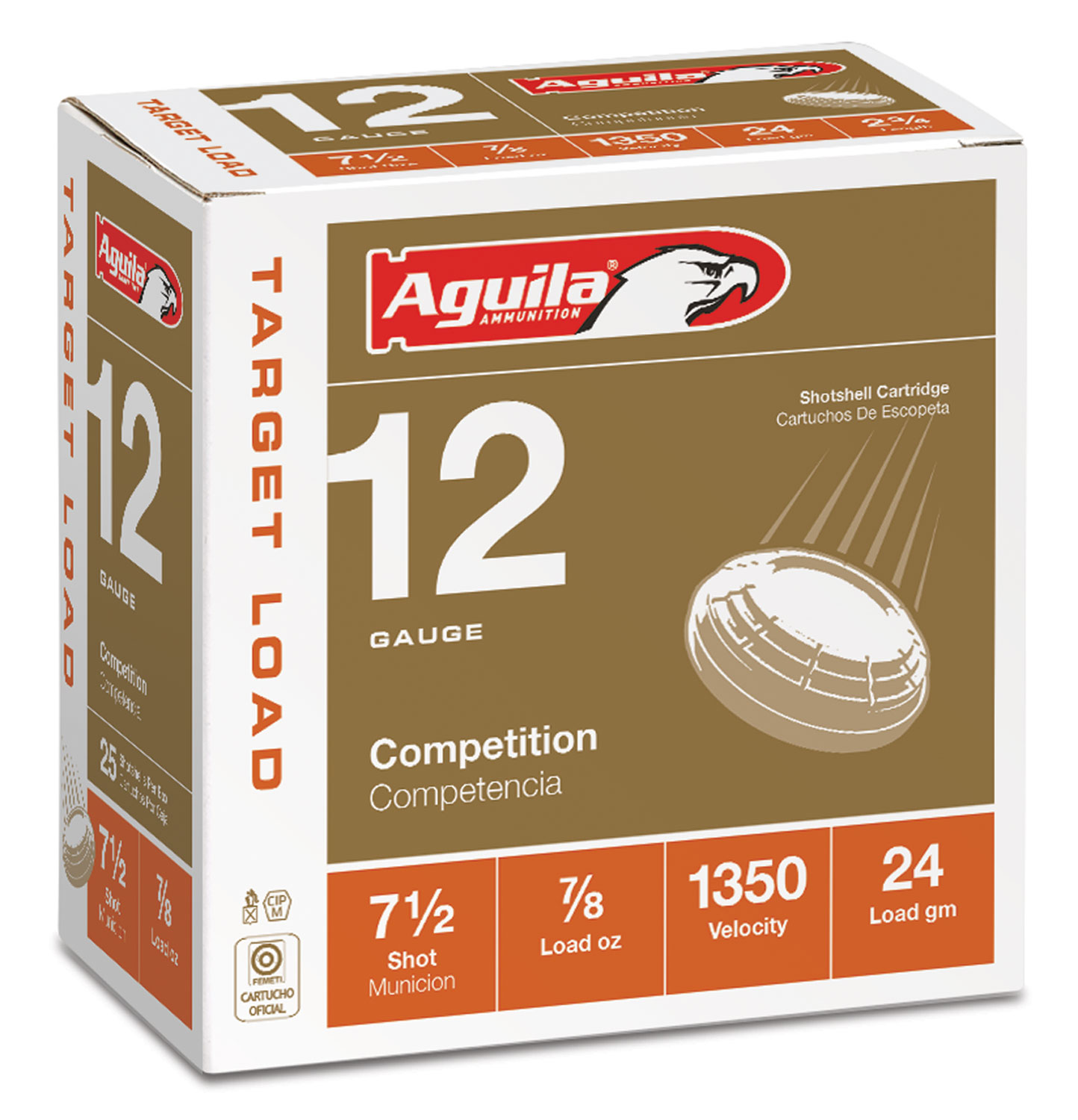 Aguila 1CHB1250 Competition Trap 12 Gauge 2.75