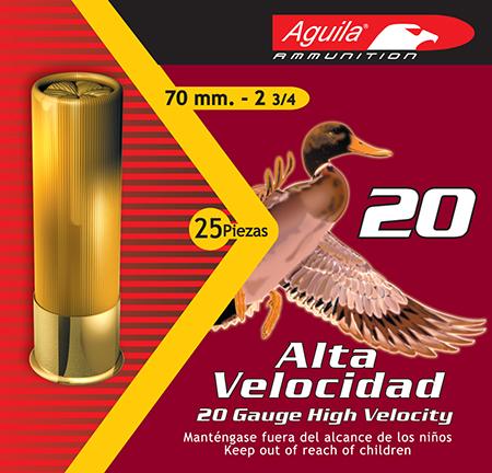 Aguila 1CHB2004 Field High Velocity 20 Gauge 2.75