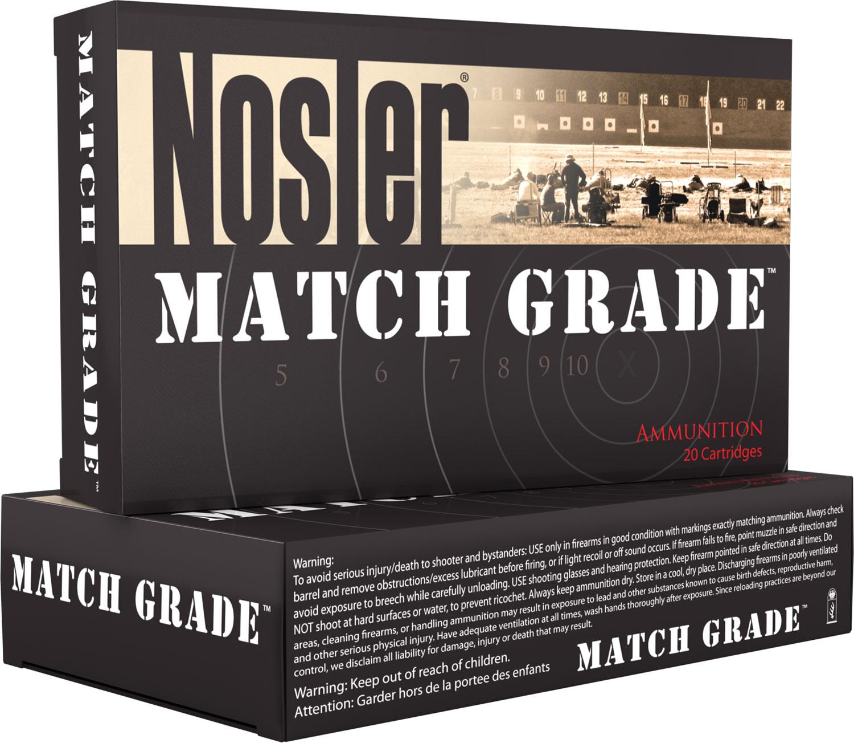 Nosler 60029 Match Grade 30 Nosler 190 GR Custom Competition 20 Bx/ 10 Cs