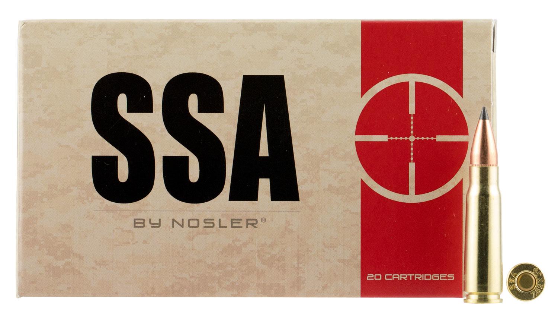 Nosler 75070 SSA 7.62X39mm 123 GR Varmageddon 20 Bx/ 10 Cs