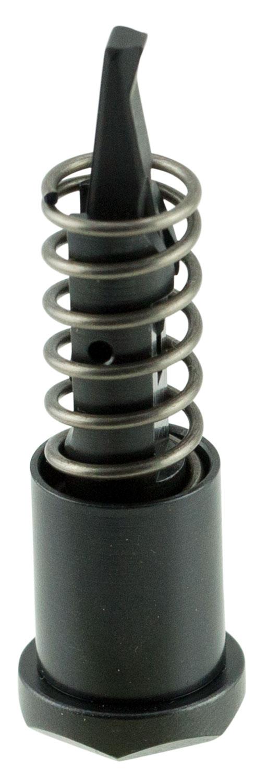 Strike ARFABK AR Forward Assist Carbon Steel Black with Hex Design