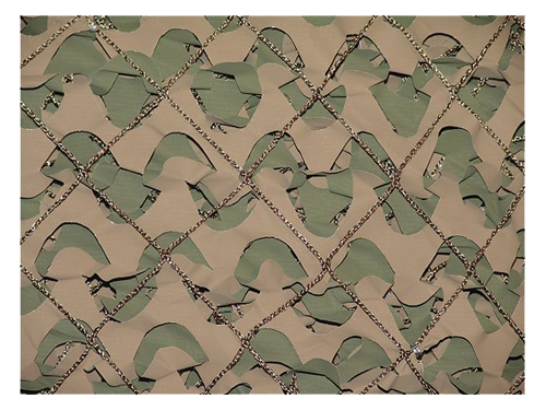 Camo Unlimited MS02B CamoSystems Camouflage Netting Wood