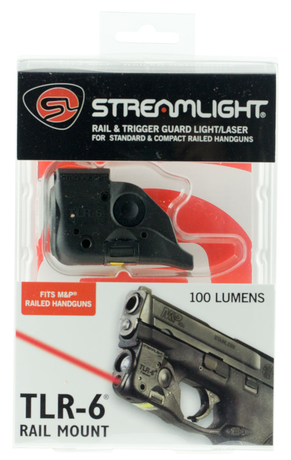 Streamlight TLR-6 Rail Mount for Smith and Wesson Flashlight
