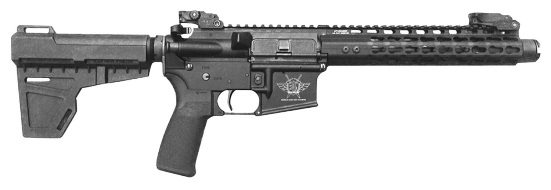 Civilian Force Arms 010117WP Warrior-15 Pistol AR Pistol Semi-Automatic 223 Remington/5.56 NATO 7.5