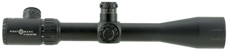 Sightmark SM13075MR Core 4-16x 44mm Obj 24.6-6.3 ft @ 100 yds FOV 30mm Tube Black Matte Marksman Reticle MOA (MR)