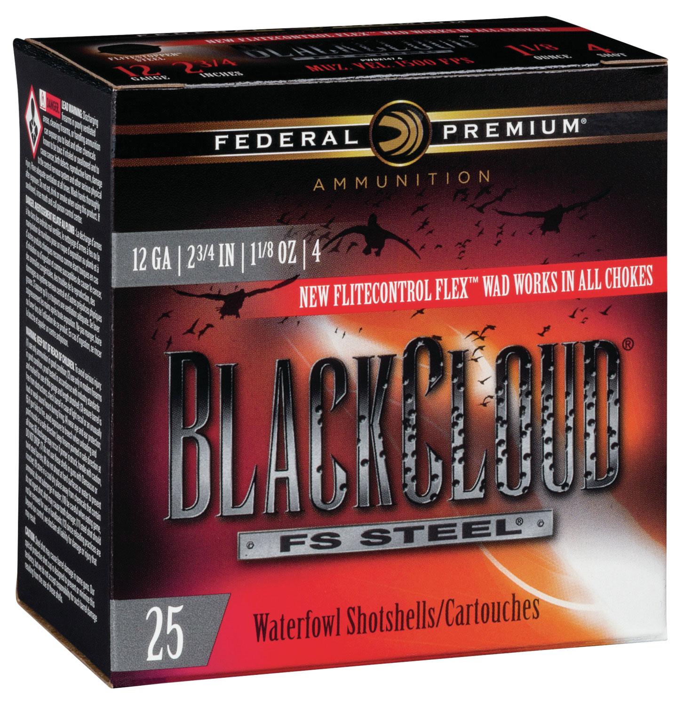 Federal PWBX1474 Black Cloud FS Steel 12 Gauge 2.75