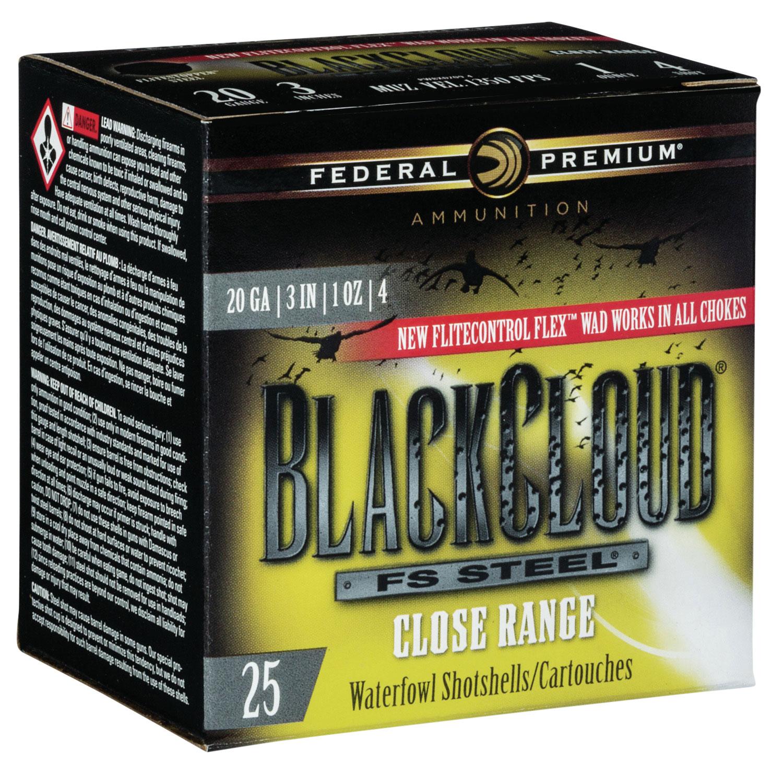 Federal PWBXD2094 Black Cloud FS Steel Close Range 20 Gauge 3