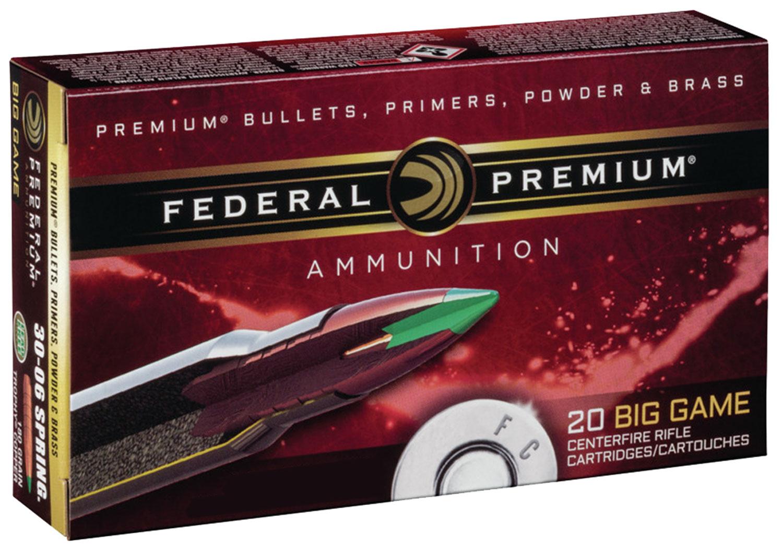 Federal P65CRDTC1 Premium   6.5 Creedmoor 120 GR Trophy Copper 20 Bx/ 10 Cs
