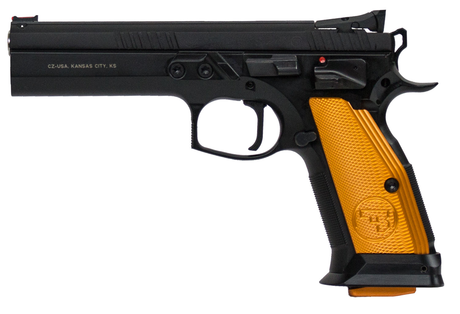 CZ 91260 CZ 75 Tactical Sport Single 40 Smith & Wesson (S&W) 5.4