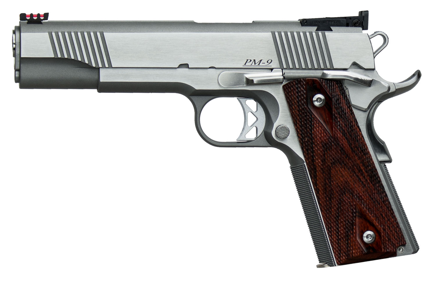 DW POINTMAN 38 38SPR 9+1 AS - 5 | STAINLESS/COCOBOLO GRIPS