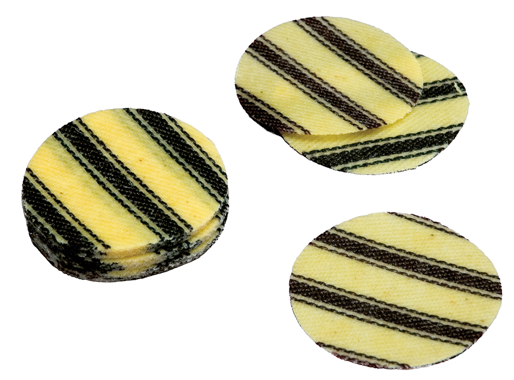 T/C Pillow Ticking Patches  <br>  .45/.50 cal. Pre-Lubed 100 pk.