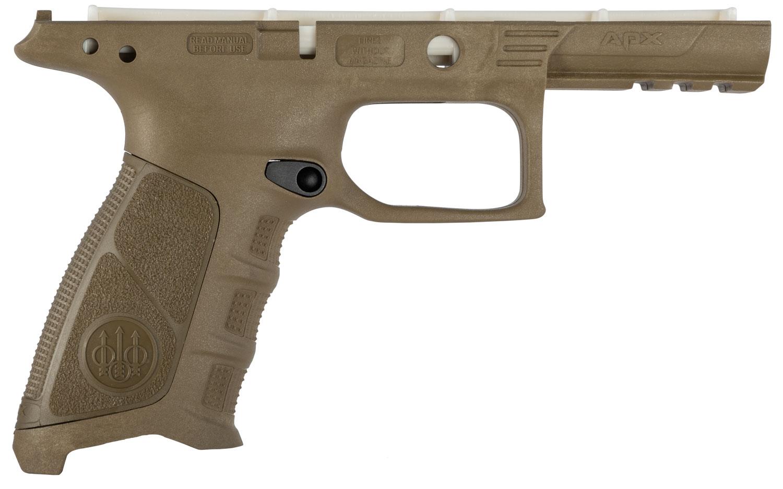 Beretta USA E01642 APX Grip Frame Polymer FDE