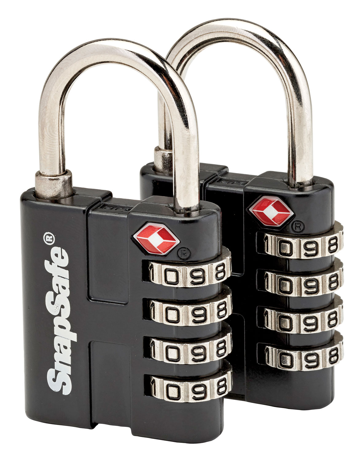 Snap Safe 76020 TSA Padlocks Combination Lock Black