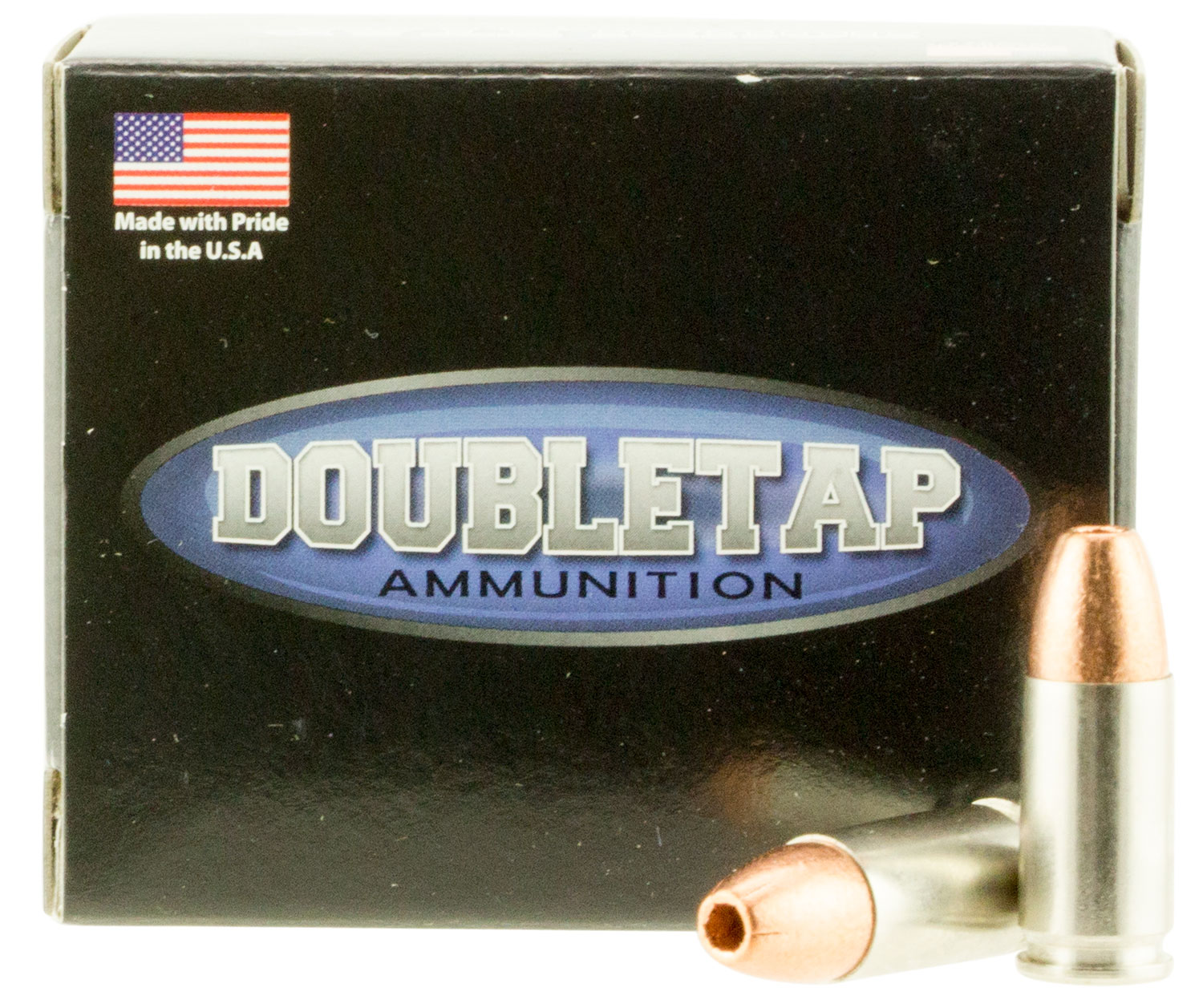 DoubleTap Ammunition 9MM77X DT Defense 9mm Luger 77 GR Lead-Free Hollow Point 20 Bx/ 50 Cs
