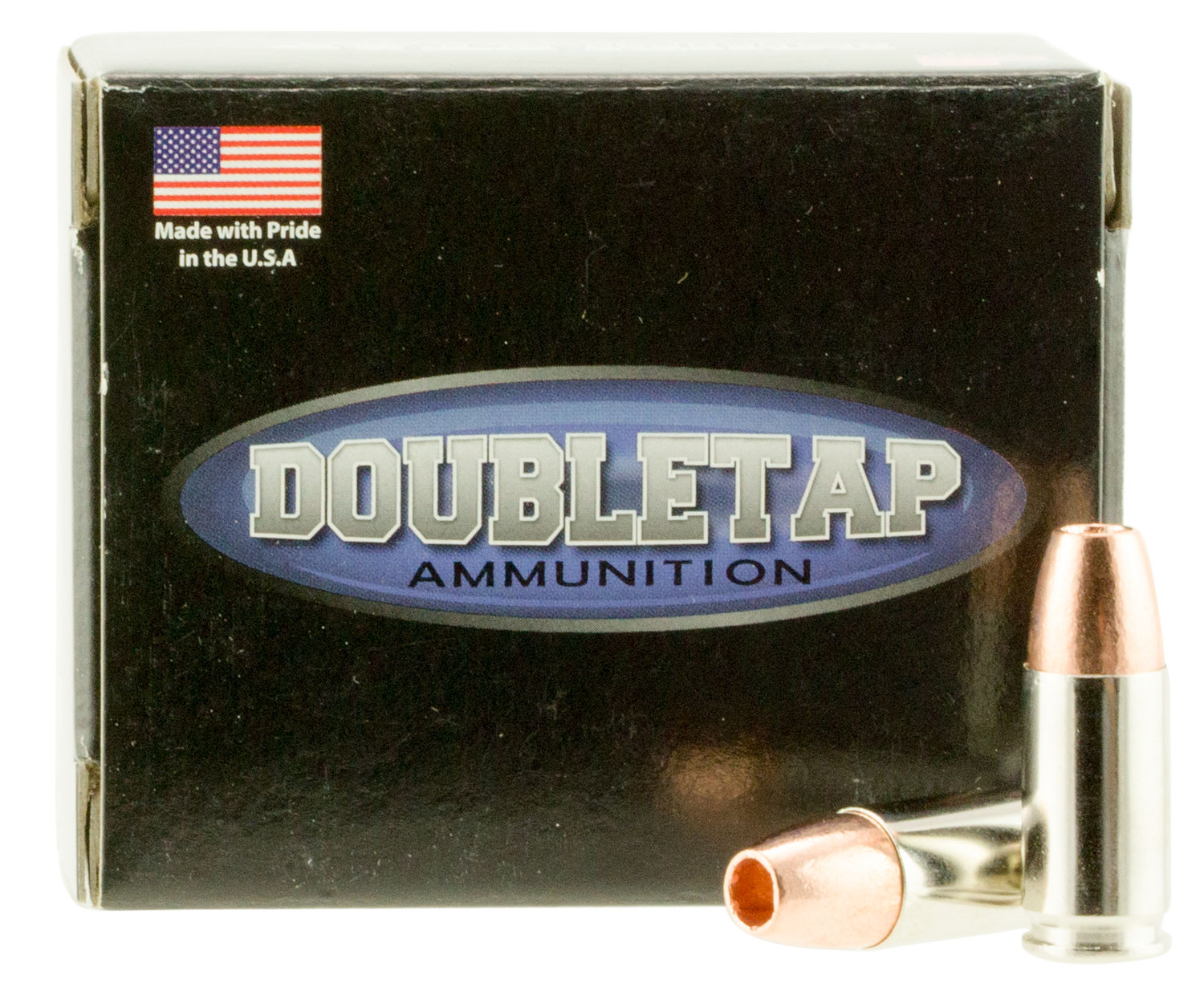DoubleTap Ammunition 9MM115X DT Tactical 9mm Luger 115 GR Barnes TAC-XP 20 Bx/ 50 Cs