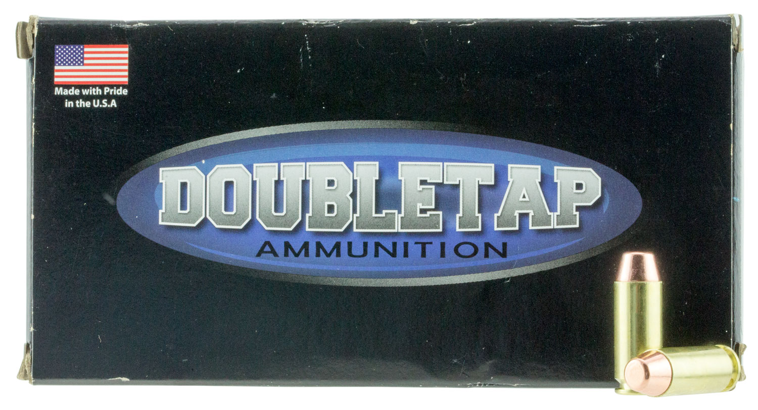 DoubleTap Ammunition 10MM180T50 DT Target 10mm Automatic 180 GR Full Metal Jacket 50 Bx/ 20 Cs