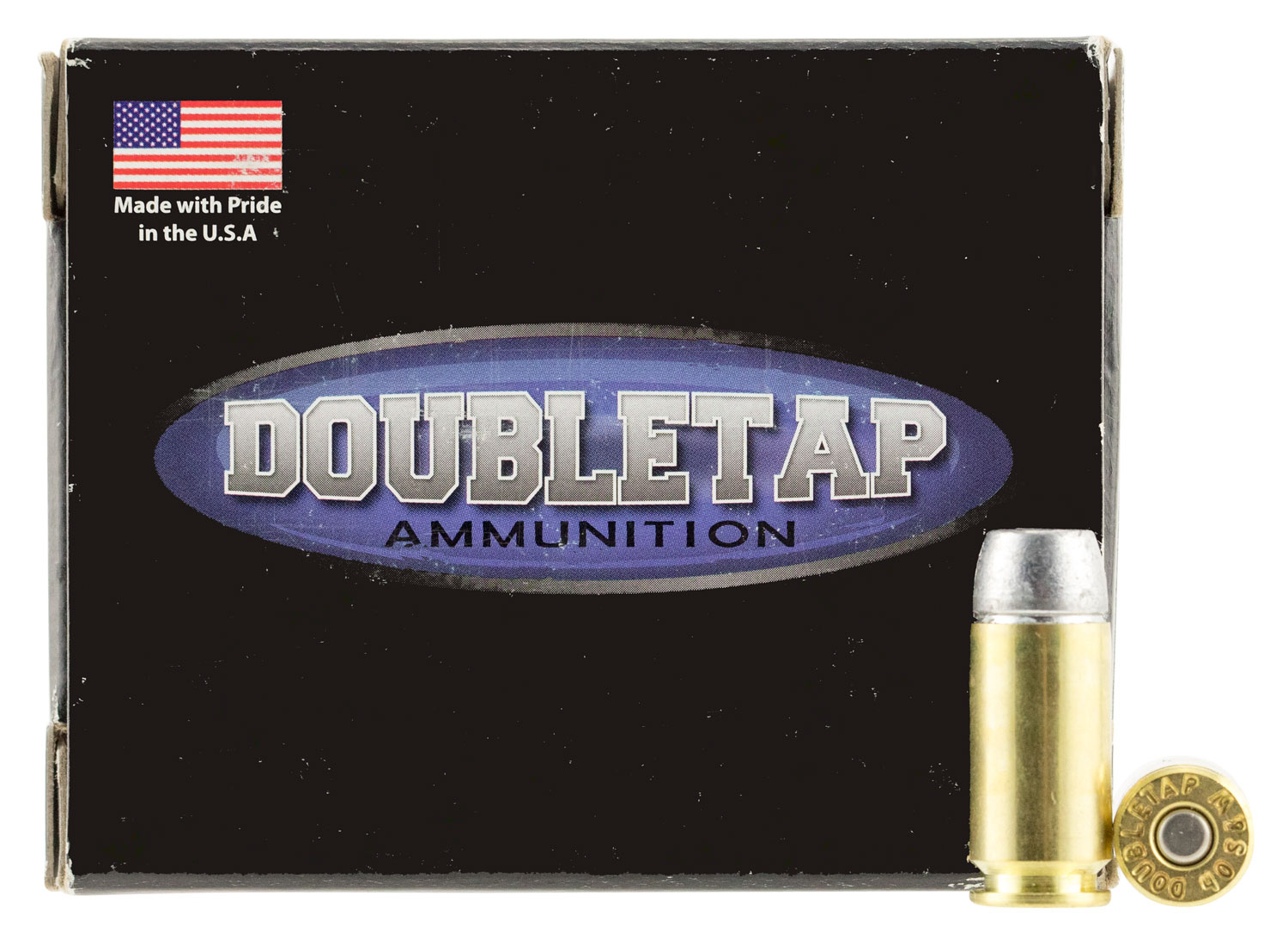 DoubleTap Ammunition 40200HC DT Hunter 40 Smith & Wesson (S&W) 200 GR Hard Cast 20 Bx/ 50 Cs