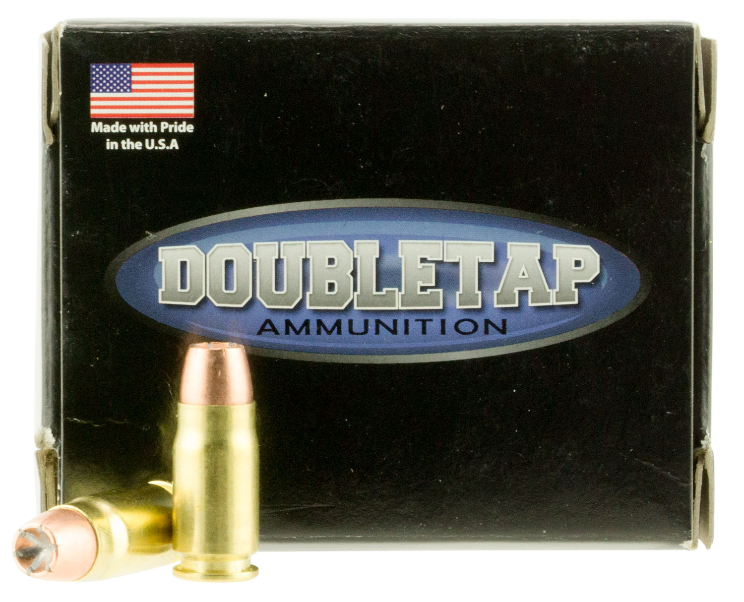 DoubleTap Ammunition 357S125BD DT Defense 357 Sig 125 GR Jacketed Hollow Point 20 Bx/ 50 Cs