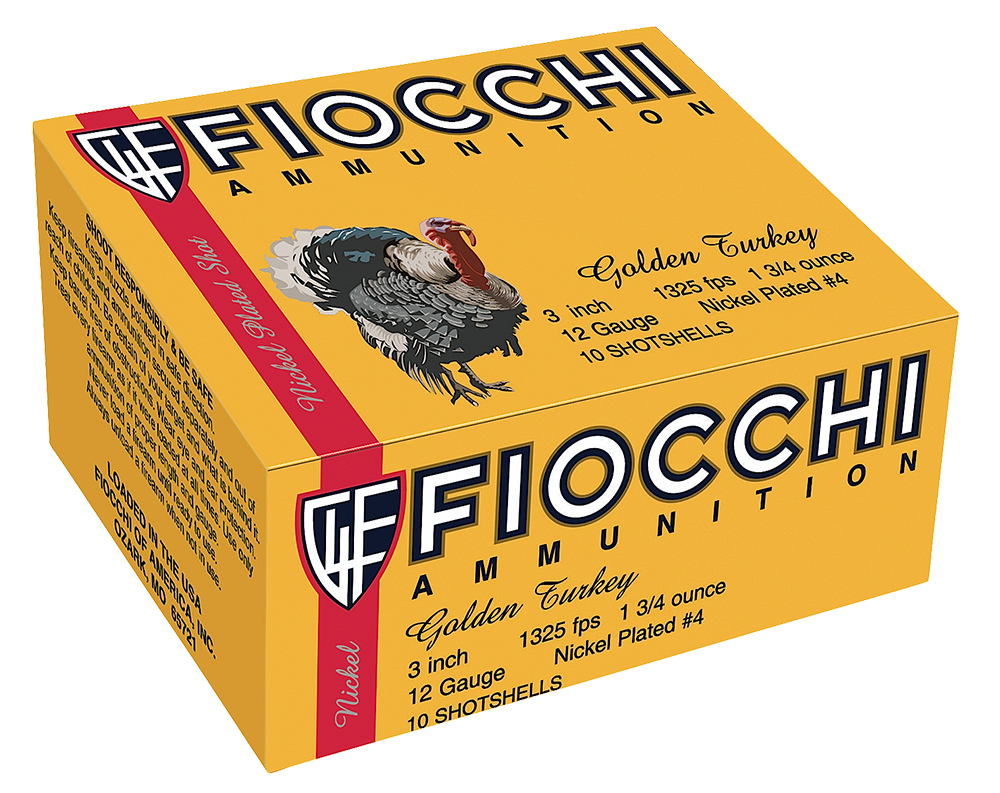 Fiocchi 123TRKC4 Golden Turkey   12 Gauge 3