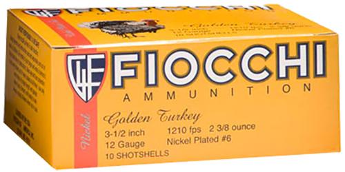 Fiocchi 1235TRKC4 Golden Turkey   12 Gauge 3.5