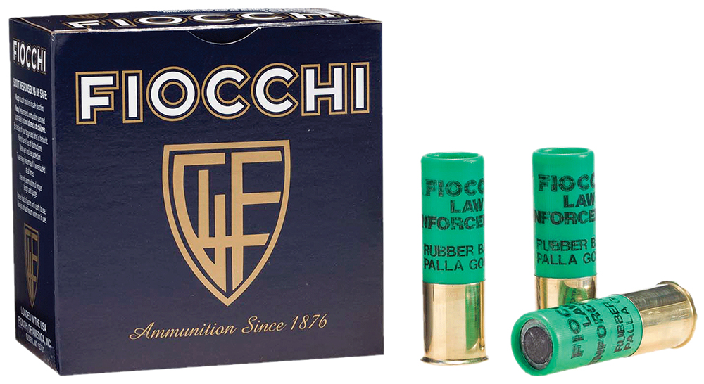 Fiocchi 12LEBA10 Rubber Baton  12 Gauge 2.75