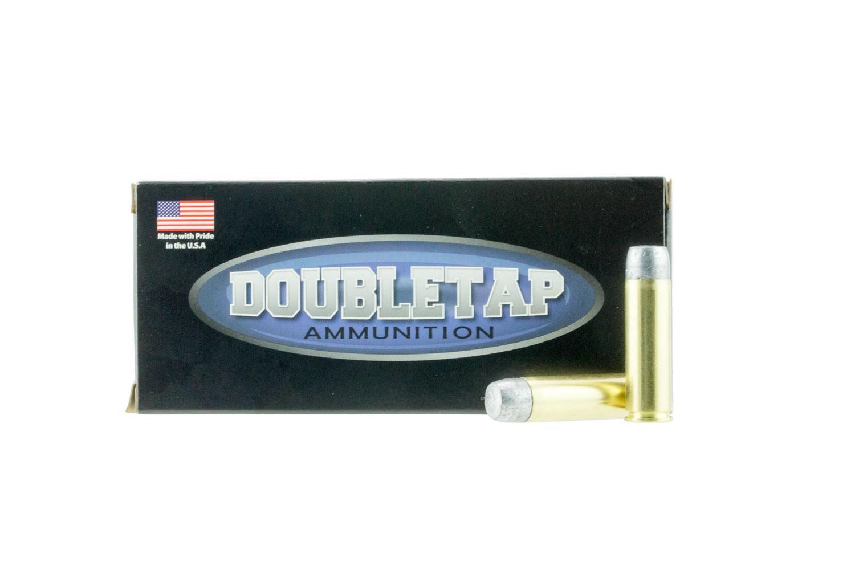 DoubleTap Ammunition 500400HC DT Hunter 500 Smith & Wesson Magnum 400 GR Hard Cast 20 Bx/ 50 Cs