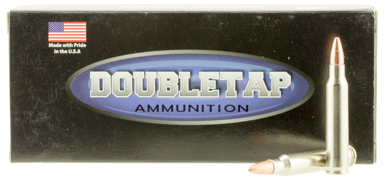DoubleTap Ammunition 223R55X DT Tactical 223 Remington/5.56 NATO 55 GR Barnes TSX 20 Bx/ 50 Cs